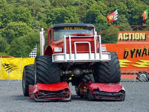 Monster Trucks in Marburg