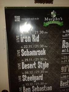 IRON KiD - LIvE- in Düsseldorf