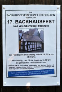 17. Backhausfest in Ebsdorfergrund-Dreihausen (I)