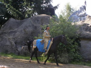 Winnetou 1 Karl May Festspiele in der Westerncity in Dasing