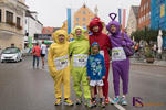 12. Friedberger Halbmarathon - Gut gelaunte Tele-Tubbies waren auch am Start