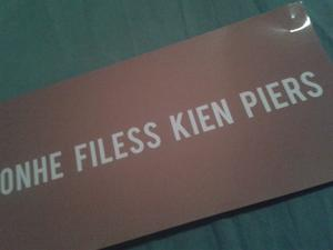 Ohne Filess kien Piers!