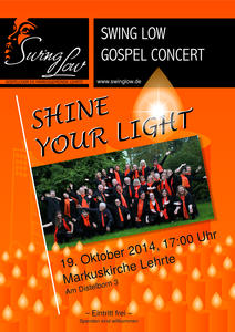 Gospelkonzert 'SHINE YOUR LIGHT'