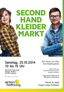 Secondhand-Kleidermarkt in Puchheim