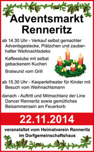 Adventsmarkt Renneritz