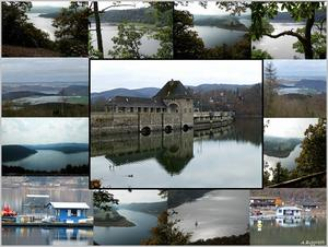 Collage vom Edersee
