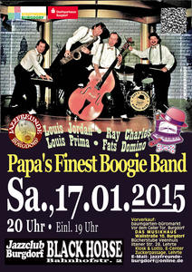 'Papa's Finest Boogie-Band' in Burgdorf