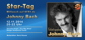Radio SFR1 im Interview mit Schlagerstar Johnny Bach