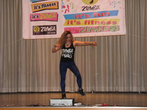 Arriba! Erste Zumba Party in Meitingen