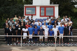 (Bildmaterial Homepage Dortmund GIANTS Aktion 'Many Nations but all are Giants') (Foto: © Presse GIANTS)