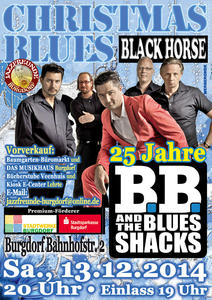 B. B. & The Blues Shacks am 13.12. 2014 in Burgdorf