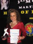 Sportlerin des Jahres 3. Hall of Honour 2009