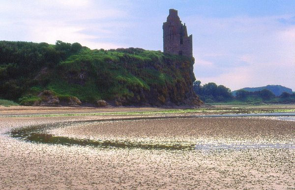 schottland, greenan-castle