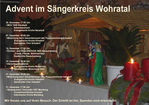 Advent im Sängerkreis Wohratal