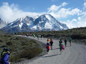 3. Internationaler Patagonien Marathon im Torres del Paine Nationalpark Chile