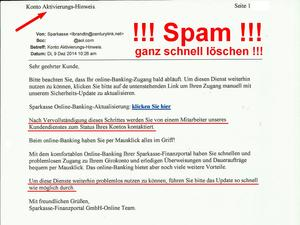 SPAM - Pishing Mail