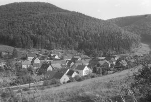 Hüddingen in den 1950igern
