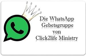 Gebetsgruppe in WhatsApp!