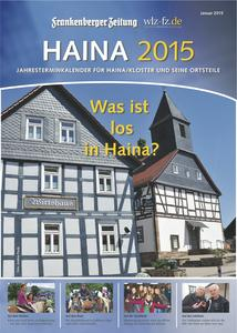 Terminkalender 2015: Was ist los in Haina?