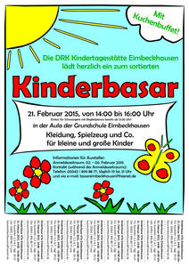 Flyer Kinderbasar Eimbeckhausen