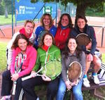 Tennis-Damen 40 in der Wintersaison 2014 / 2015
