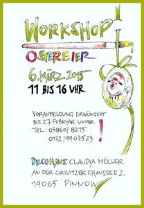 Ostereier Workshop