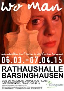 Internationaler Frauentag - Kunstausstellung in der Rathaushalle Barsinghausen