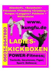 Ladieskickboxen in Flörsheim-Wicker !!!