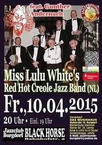 »Miss Lulu White's Red Hot Creole Jazzband« aus Holland kommt