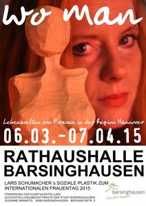Kunstausstellung 'wo man' in Barsinghausen