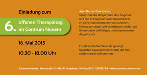 6. offener Therapietag