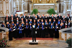 Kammerchor Burgau in Aktion