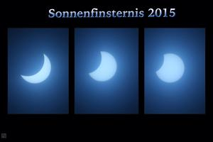 Sonnenfinsternis als Collage