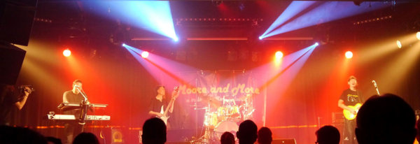 Moore and More Tribute to Gary Moore am 15.8.15 im Rockzelt