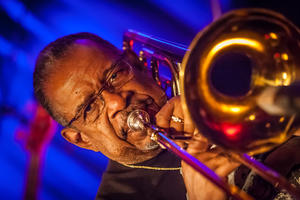 Fred Wesley and the new JB`s im Jazzclub Hannover