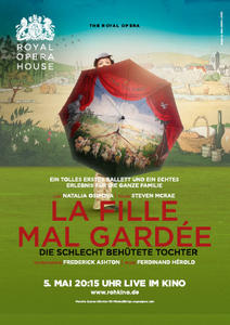 BALLETT LIVE AUS DEM ROYAL OPERA HOUSE LONDON: LA FILLE MAL GARDÉE