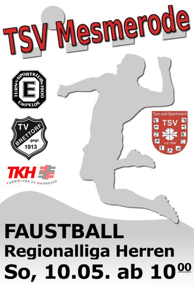 Faustball-Regionalliga - Premiere in Mesmerode!