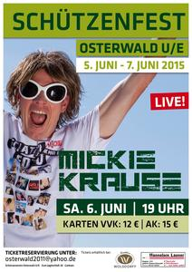 Mickie Krause 'LIVE' in Osterwald