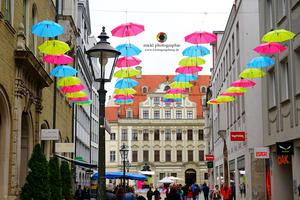 Augsburger Innenstadt-Fest SONNTAG IN THE CITY am 03. Mai 2015