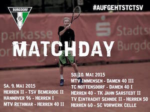 Spannende Tennis-Matches