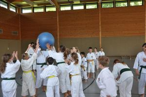 Shorinji Kempo Trainingslager im Schullandheim