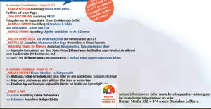 OPEN HOUSE Im Atelier freiart:  Blaues Wunder - selbstgemacht