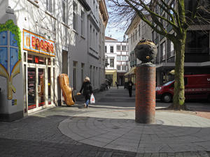 ,, der Riesenschuh in der Oldenburger City