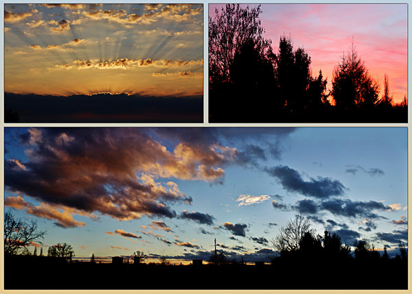 wolkenbilder, collage, bildergalerie-collage