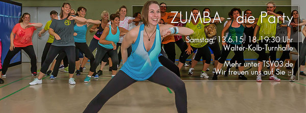 Zumba-Party beim TSV 03