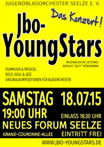 Jbo-YoungStars laden zum Konzert am 18. Juli in Seelze
