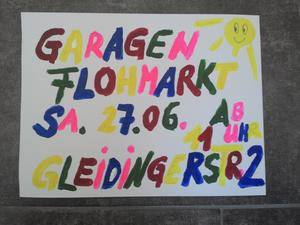 Garagen Flohmarkt in Oesselse am 27. Juni 2015
