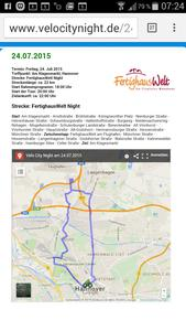Velo City Night - auch durch Langenhagen