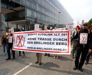 Anti-SUEDLINK-Demo am 27.6.2015 in Hannover