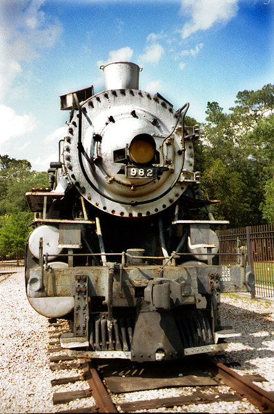 eisenbahn, dampflok, texas, houston